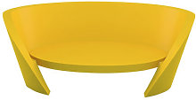 Rap Straight sofa by Slide Yellow
