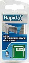 Rapid 40109513 140/6NB 6mm Galvanised Staples
