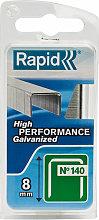 Rapid 40109514 140/8NB 8mm Galvanised Staples