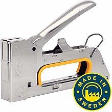 Rapid Staple Gun for Upholstery Jobs, Full Metal