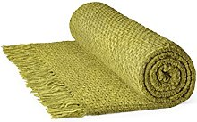 Rapport Aspen Basket Weave 100% Cotton Throw, 150