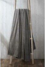 Rapport - Coral Fleece Charcoal 200x240cm Blanket