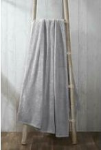 Rapport - Coral Fleece Silver 200x240cm Blanket