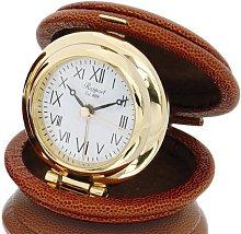 Rapport Oyster Travel Alarm Clock (Tan)