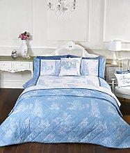 Rapport Vintage Style Blue Double Quilt Duvet