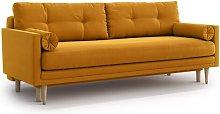 Raquel 4 Seater Clic Clac Sofa Bed Ebern Designs