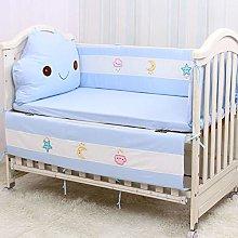 Rart 4 pcs cotton baby bedding set,Unisex all
