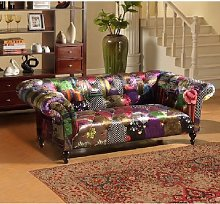 Rasc 2 Seater Chesterfield Sofa Marlow Home Co.