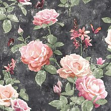 Rasch Amsterdam Floral Rose Vintage Chic Effect