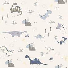 Rasch - Dinosaurs Wallpaper Kids Children's