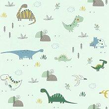 Rasch Kids Dinosaur Wallpaper Children's Room