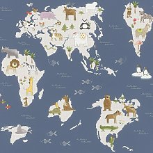 Rasch Kids Marvellous Animal And Friends Map