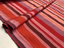 Raspberry Brown Striped Dress Home Decor Light