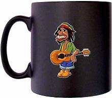 Rasta Man Guitar Player Rastafarian Musician