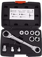 Ratchet Handle Wrench 15 in 1 Socket Wrench Set