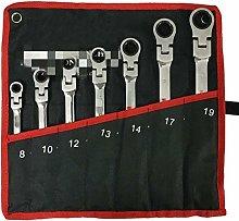 Ratchet Handle Wrench Key Set Multi-Function Tool