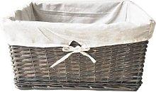Rattan Basket Brambly Cottage