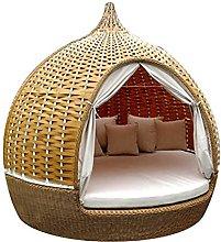 Rattan Birdcage Bed Sofa - Outdoor Rattan Wicker