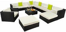 Rattan garden furniture lounge Las Vegas - garden