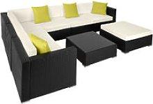 Rattan garden furniture lounge Marbella - garden