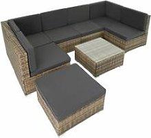 Rattan garden furniture lounge Venice - garden