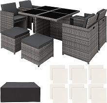 Rattan garden furniture set Manhattan with