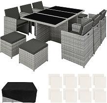 Rattan garden furniture set New York with