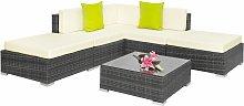 Rattan garden furniture set Paris - garden sofa,