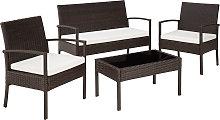 Rattan garden furniture set Sparta 3+1 -