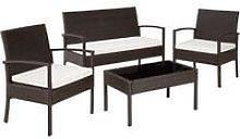 Rattan garden furniture set Sparta 3+1 - garden
