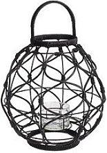 Rattan Look Lantern