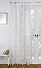 RAVALI Birch Tree Metallic Print Single Slot Top