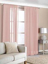 RAVALI Contemporary Plain Blush Pink Easy Hang