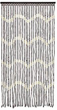 RAVALI Quality Wooden Bamboo Beaded Door Curtain