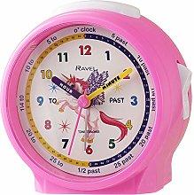 Ravel Children's Bedside Alarm Clock - Pink