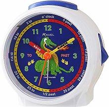 Ravel Children's Bedside Alarm Clock - White