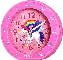 Ravel Childrens Unicorn Time Teacher Pink Alarm