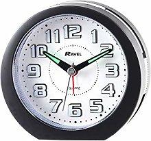 Ravel - Ealing LED Light Up Alarm Clock - Black