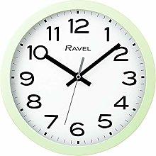 Ravel Modern 25cm Wall Clock - Sage Green