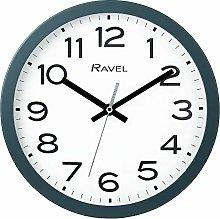 Ravel Modern 25cm Wall Clock - Slate Grey