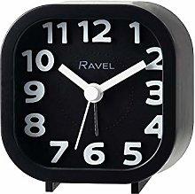 Ravel - Pattingham Double Beep Alarm Clock - Black
