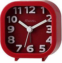 Ravel - Pattingham Double Beep Alarm Clock - Red