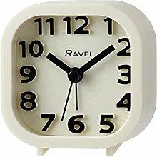 Ravel - Pattingham Double Beep Alarm Clock - White