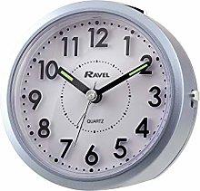 Ravel - Ruxley 3D Alarm Clock - Metallic Blue