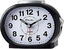 Ravel - Shipley Bold Alarm Clock - Black