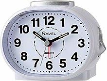 Ravel - Shipley Bold Alarm Clock - White