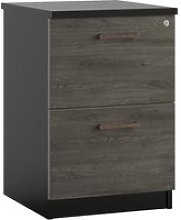 Raven 2 Drawer Filing Cabinet (Denver Oak)