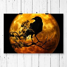 Raven Bird Art Photographic Print Big Box Art