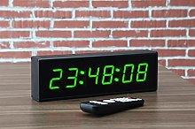 Ravencourt Digital LED Clock/Timer, Aluminium