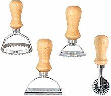 Ravioli Cutters Set of 4 Ravioli Stamp Maker